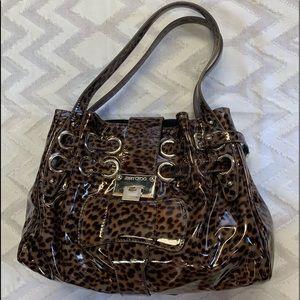 Jimmy Choo Leopard Shoulder Bag